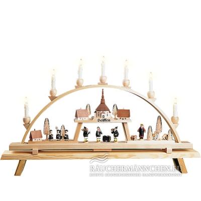 elektrischer schwibbogen seiffen kirchendorf gro online shop g nstig kaufen richard gl sser 01223. Black Bedroom Furniture Sets. Home Design Ideas