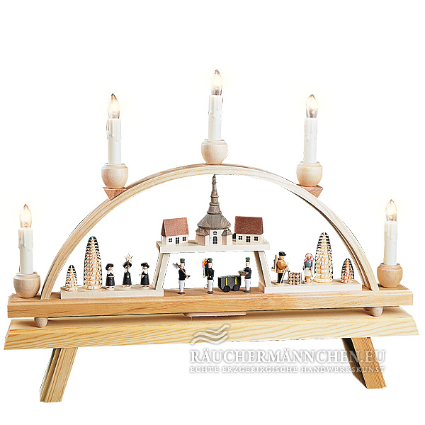 elektrisch schwibbogen seiffen kirchendorf online shop g nstig kaufen richard gl sser 01251. Black Bedroom Furniture Sets. Home Design Ideas