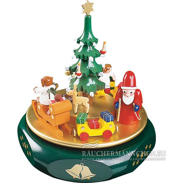 weihnachtstraum spieldose weihnachtsmann christbaum online. Black Bedroom Furniture Sets. Home Design Ideas